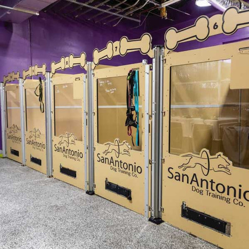 San Antonio Dog Training Gator Kennels Signature Series.