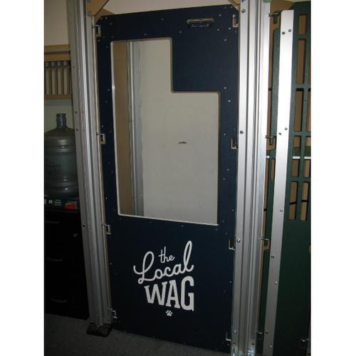 The Local Wag's Gator Kennels custom gates.