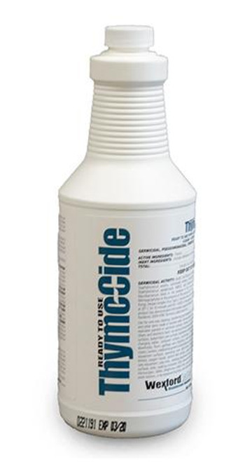 thymocide kennel sanitizer.