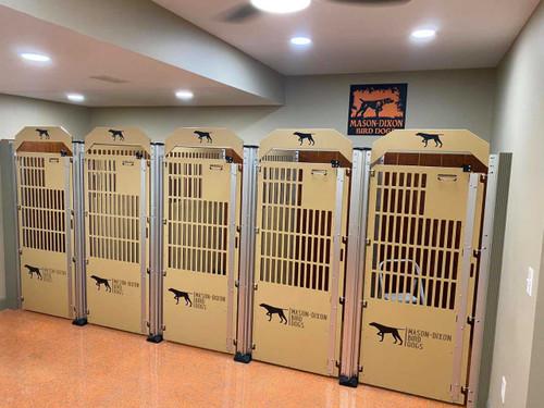 Mason-Dixon Bird Dogs' Gator Kennels custom dog kennels.