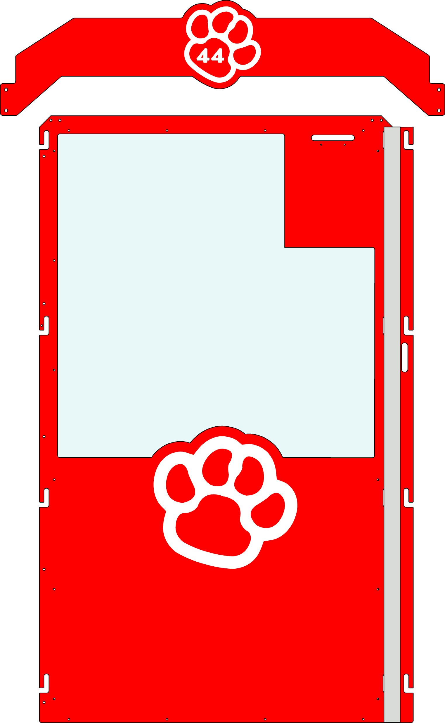 Red Gator Kennels Gate example