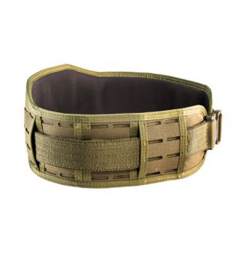 HSG Laser Sure-Grip Padded Belt- Slotted