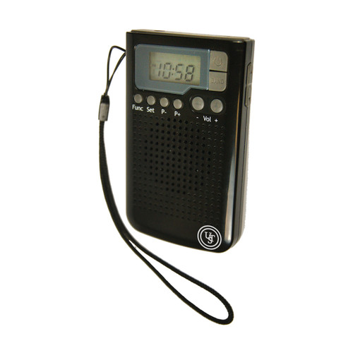 UST WEATHERBAND RADIO BLACK