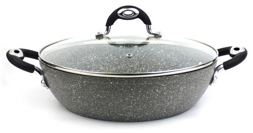 Bialetti Donatello Petravera 28cm Chef Pan with Lid