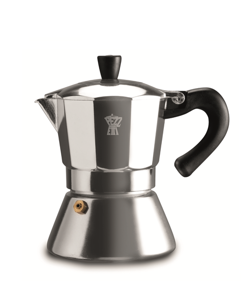 Pezzetti Bellexpress 6 Cup Silver Coffee Maker - Induction