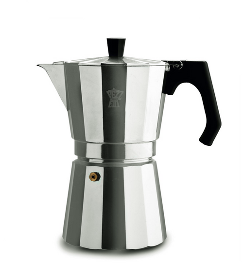 Pezzetti Luxexpress Coffee Maker - Aluminium