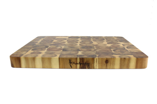 Woodpecker Rectangular Acacia End Grain Board (OUT OF STOCK - ETA March)