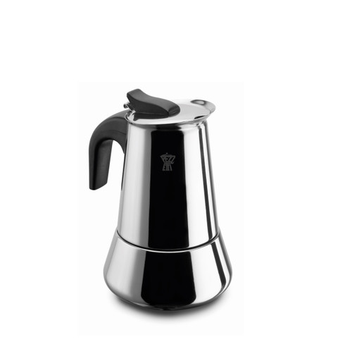 Pezzetti 2 Cup Stainless Steel Stove Top Coffee Maker