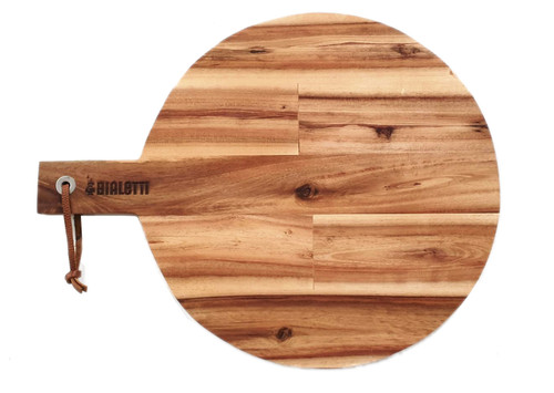 Bialetti Large Acacia Paddle Board Size: +63 x 50cm (OUT OF STOCK - ETA March)
