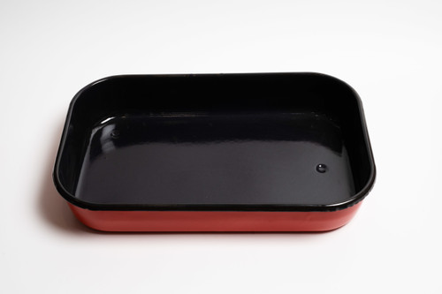Bialetti Red Rectangular Roasting Pan