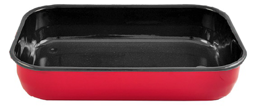 Bialetti Red Rectangular Roasting Pan.