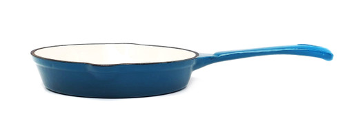 25cm Enamelled Cast Iron Frypan - Sky Blue (OUT OF STOCK - ETA MAY)