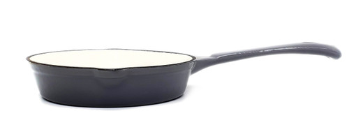 17cm Enamelled Cast Iron Frypan - Grey (OUT OF STOCK - ETA MAY)