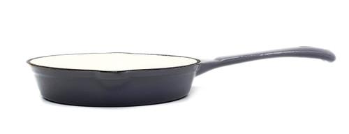 25cm Enamelled Cast Iron Frypan - Grey