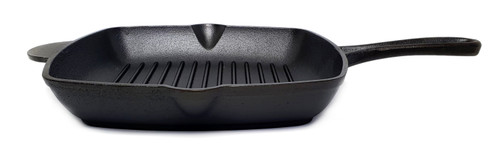 26cm Pre-seasoned Cast Iron Square Grill (OUT OF STOCK - ETA MAY)