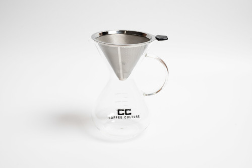 Pour Over 600ml Coffee Jug with Filter