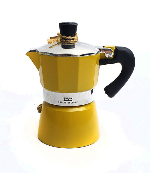 Yellow Coffee Maker - 1 Cup