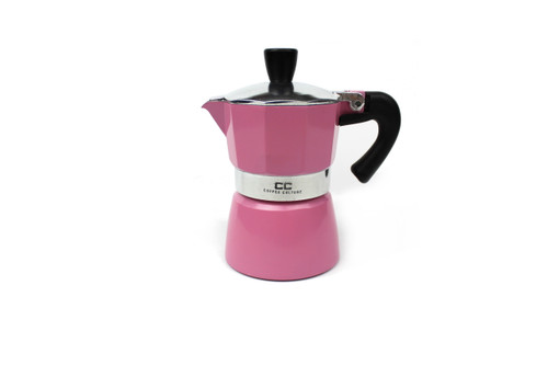 Pink Coffee Maker - 1 Cup