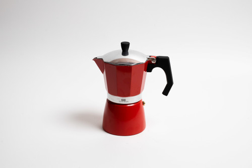 Red Stove Top Coffee Maker - 9 Cup