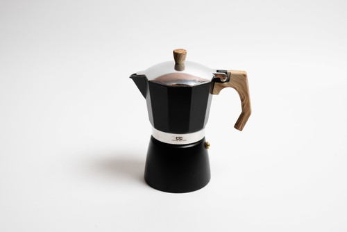Black Stove Top Coffee Maker - 9 Cup