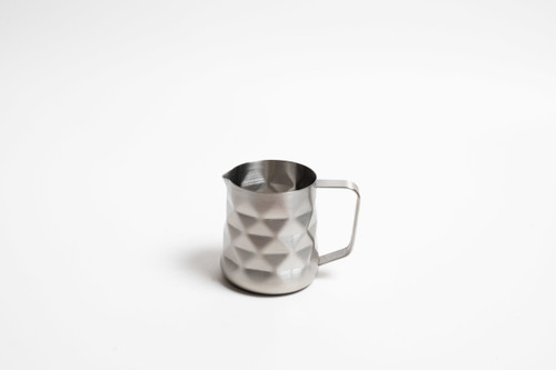 Diamond Embossed 350ml Milk Frothing Jug