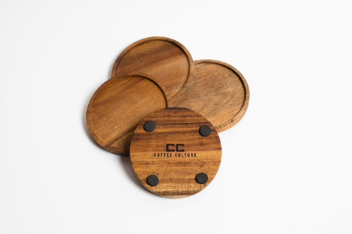 Acacia 4 Piece Coasters (OUT OF STOCK - ETA APRIL)