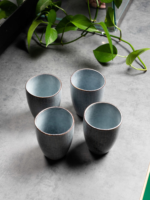 Reactive 280ml Coffee and Tea Cup - Set of 4.