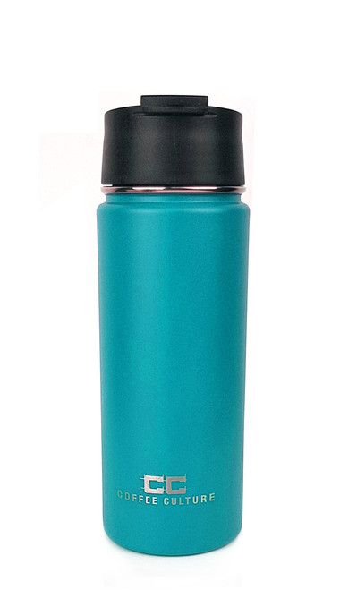Matte Torquoise 500ml Travel Flask with Sipper