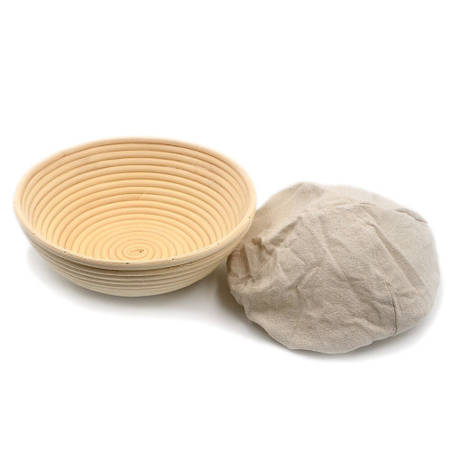 Brunswick Bakers Round 25cm Bread Banneton with Lining