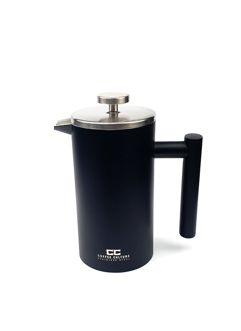 Matte Black 800ml Stainless Steel French Press / Plunger (OUT OF STOCK - ETA APRIL)