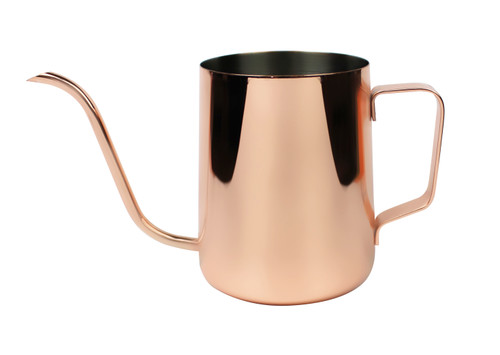 Copper 600ml Goose Neck Pour Over Jug
