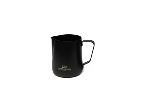 Matte Black Stainless Steel 350ml Milk Frothing Jug