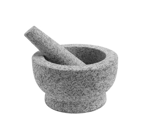 Granite Mortar and Pestle - Size: 15cm (OUT OF STOCK - ETA MARCH)
