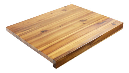 Reversible Acacia Bakers Board with Non-Slip Matt - Size: 60 x 50cm