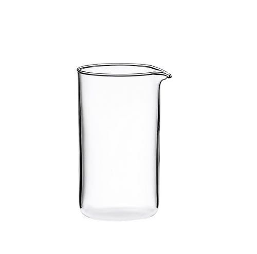 Borosilicate Coffee Plunger Replacement Carafe  350ml