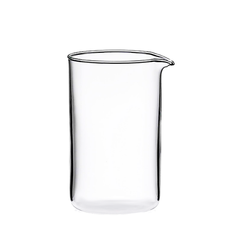 Borosilicate Coffee Plunger Replacement Carafe  1.0L
