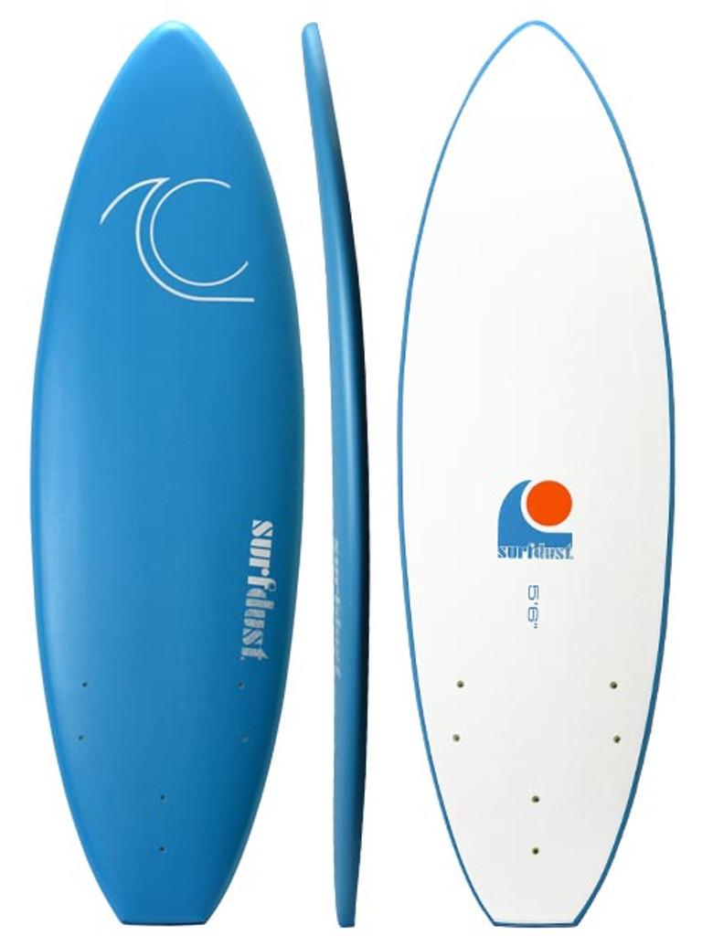 SURFDUST - Intro 5.6ft Softboard - Beginners Surfboard