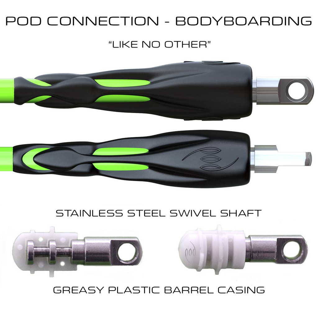 POD Connection Large Bicep Leash - Prone Bodyboarding