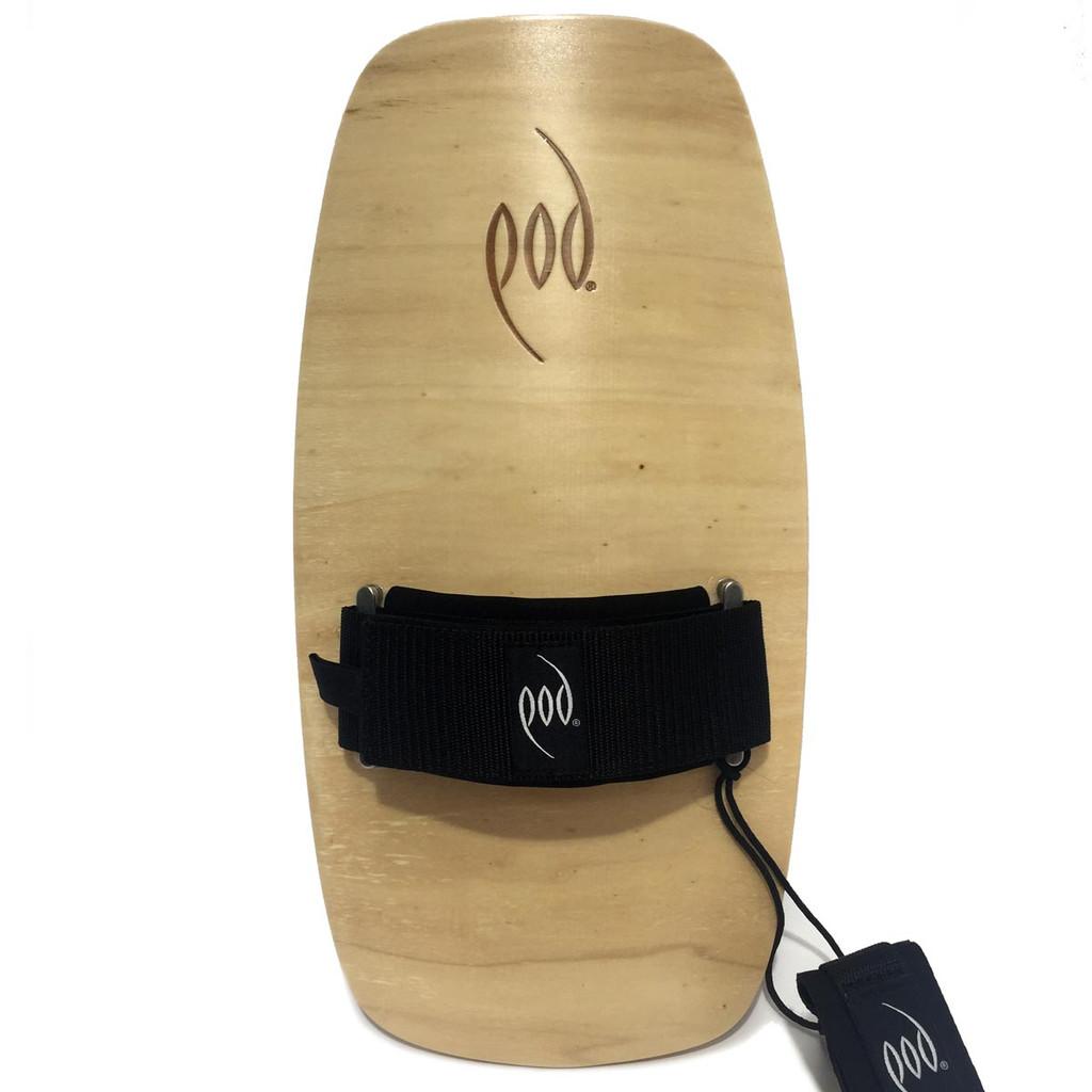 Premium Bodysurfing Gear - Wood Handboard PF2 Swim Fins
