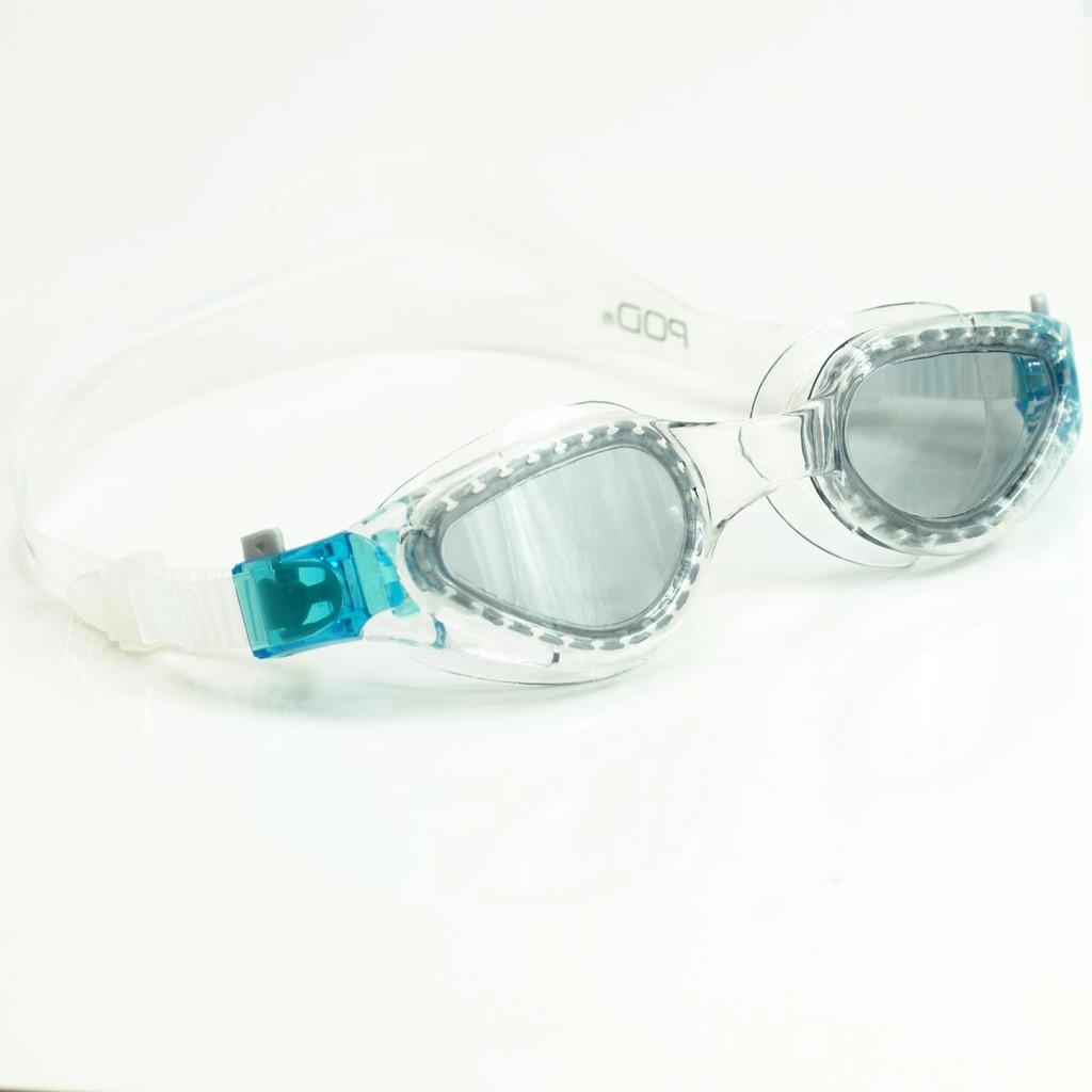 POD TRITEK Adult Swim Goggles - 2 Lens Colours Clear Frame