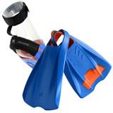 POD Fins PF2 - Swim Fins - Fin Savers and Heel Protectors