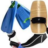 Bodysurfing Tools - POD Handplane PF1 Swim Fins Socks Savers