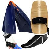 Bodysurfing Tools – POD Handplane PF3 Swim Fins Socks Savers