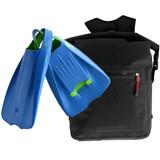 Waterproof Backpack 25 Litres - POD Fins PF1 - Swim Fins