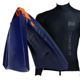 POD Fins PF3 Swim Fins - Long Sleeve Rash Shirt - Rash Vest