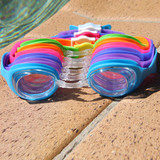 Eyeline Scoot Swim Goggles - Clear Lens - 6 Colours