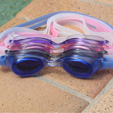 Eyeline Softee Swim Goggles - 4 Lens Colours