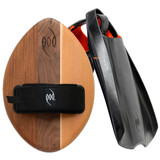 Best Bodysurfing Gear – WOO Wood POD Handboard PF2 Swim Fins