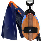 WOO Wood POD Handboard PF3s Savers - Finest Bodysurfing Gear