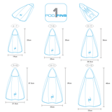 PF1 - Bodysurfing - Bodyboarding - Kneeboarding - Swimming